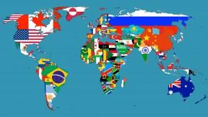 World Flag Map