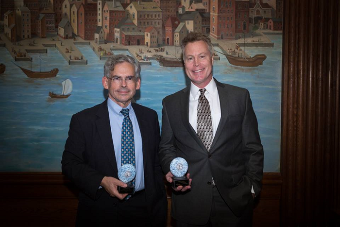 Michael Gerrard honored by Climate Science Legal Defense Fund at Defender of Science Dinner