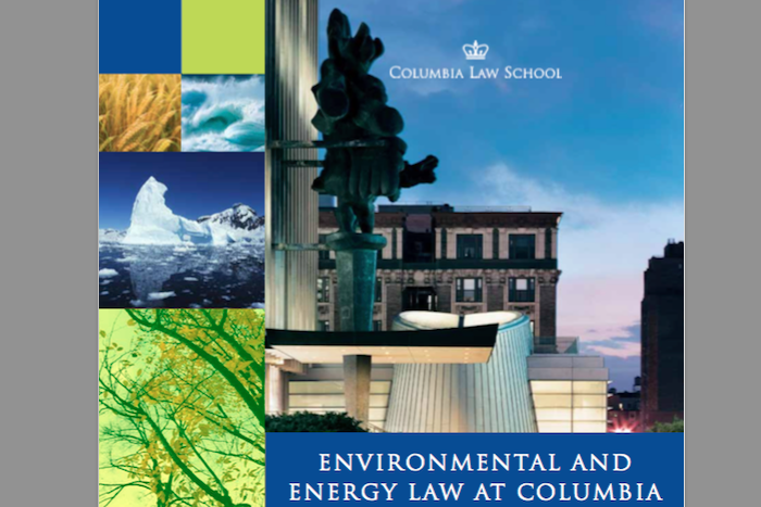 Environmental and Energy Law at Columbia
